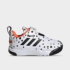 Kids' Toddler adidas Disney 101 Dalmatians ActivePlay Hook-and-Loop Casual Shoes