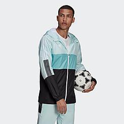 Men's adidas Tiro Blocking Full Zip Windbreaker Jacket