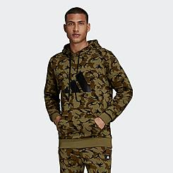 Men's adidas Sportswear Future Icons Camo Graphic Sweatshirt