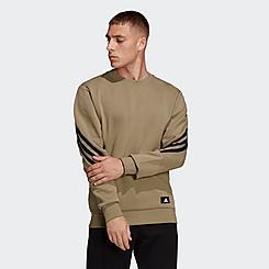 Men's adidas Sportswear Future Icons Three Stripes Crewneck Sweatshirt