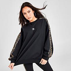 Women's adidas Originals Animal Print Crewneck Sweatshirt