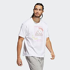 adidas Love Unites Badge of Sport T-Shirt