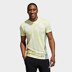 Men's adidas Love Unites AEROREADY 3-Stripes Graphic T-Shirt