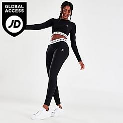 Women's adidas Originals Trefoil Tape Leggings