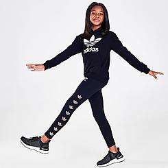 Girls' adidas Originals Repeat Trefoil Leggings