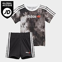 Boys' Infant and Toddler adidas Originals Fade T-Shirt and Shorts Set
