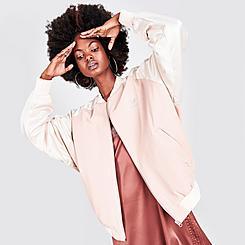 Women's adidas Originals 2000 Luxe Bomber Jacket