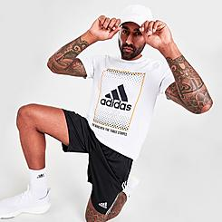 Men's adidas Badge of Sport Box Label T-Shirt
