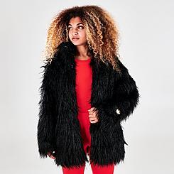 Women's adidas Originals Faux Fur Jacket