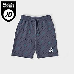 Boys' Illusive London Monogram AOP Shorts