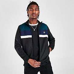 Men's Fred Perry Colorblock Track Jacket