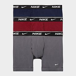 Men's Nike Underwear Everyday Cotton Stretch Boxer Briefs (3 Pack)