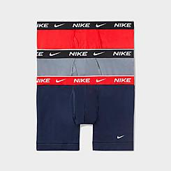 Men's Nike Underwear Everyday Cotton Stretch Boxer Briefs (3-Pack)