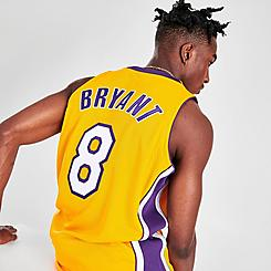 Men's Mitchell & Ness Kobe Bryant Los Angeles Lakers NBA Finals Basketball Jersey
