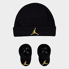 Infant Jordan Hat and Bootie Set