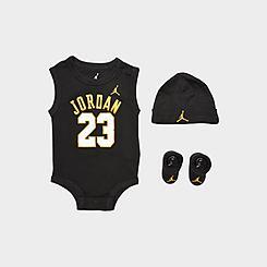 Boys' Infant Air Jordan Jersey 3-Piece Boxed Set