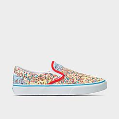 Vans x Where's Waldo Classic Slip-On Casual Shoes