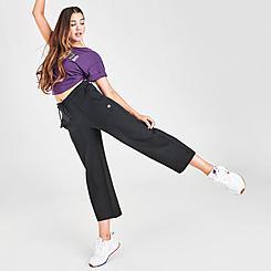 Women's Champipon Super Fleece Wide Leg Crop Pants
