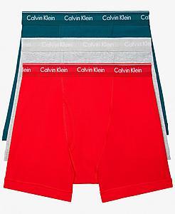 Men's Calvin Klein Cotton Classic Fit Boxer Briefs (3 Pack)