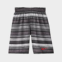 Boys' Nike 6:1 Stripe breaker Volley Swim Trunks
