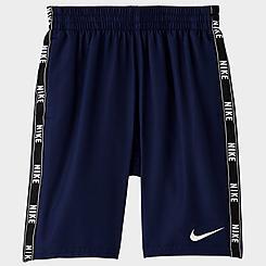 Boys' Nike Logo Taped Swim Shorts