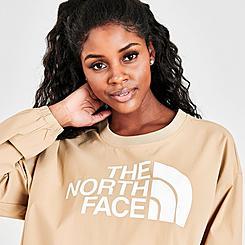 Women's The North Face Explore City Woven Crew Sweatshirt