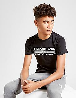 Boys' The North Face Never Stop Exploring Reflective T-Shirt
