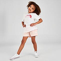 Toddler and Little Kids' The North Face Cotton T-Shirt and Shorts Summer Set