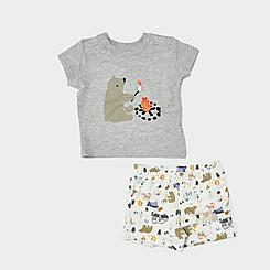 Infant The North Face Summer T-Shirt and Shorts Set