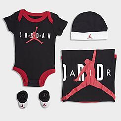 Infant Jordan Bodysuit, Hat, Booties and Blanket Gift Set (4-Piece)