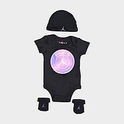 Infant Jordan Paris Saint-Germain 3-Piece Box Set