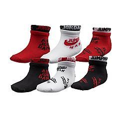 Infant Jordan Gripper Ankle Socks (6-Pack)