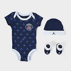 Infant Jordan Paris Saint-Germain 3-Piece Box Set