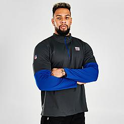 Men's Nike NFL New York Giants Half-Zip Pullover