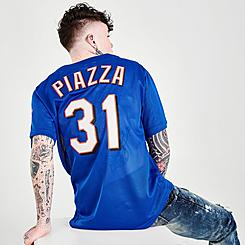 Mitchell & Ness Mike Piazza New York Mets MLB 2000 Authentic BP Baseball Jersey