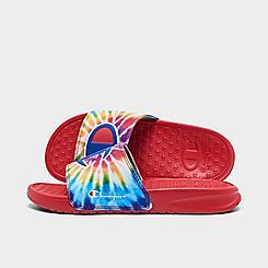 Little Kids' Champion Tie-Dye Slide Sandals