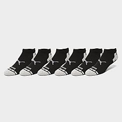 Men's Puma Half Terry 6-Pack Low-Cut Socks