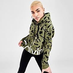 Women's Calvin Klein Leopard Hoodie