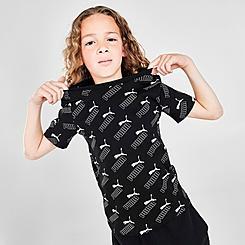 Kids' Puma AOP Logo T-Shirt