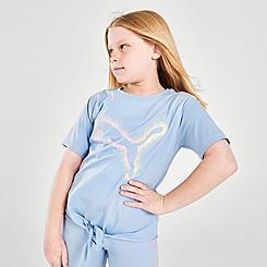 Girls' Puma Rebel Tie-Front T-Shirt