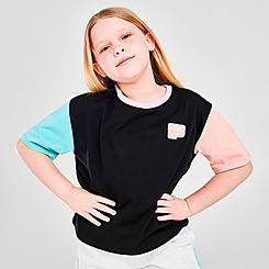 Girls' Puma Colorblock T-Shirt
