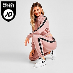 Women's Pink Soda Sport Tape Jogger Pants