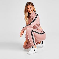 Women's Pink Soda Sport Tape Jogger Pants