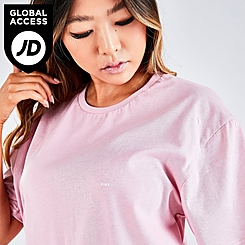 Women's Pink Soda Sport Essentials Boyfriend T-Shirt