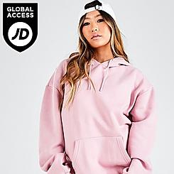 Women's Pink Soda Oversized Pullover Hoodie
