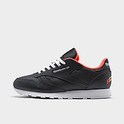 Men's Reebok Classic Leather Collegiate Casual Shoes