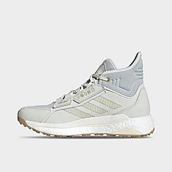 Women's adidas Terrex Free Hyperblue Mid Hiking Shoes