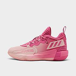 Big Kids' adidas Dame 7 EXTPLY Basketball Shoes
