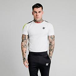 Men's SikSilk Fade Panel Tech T-Shirt