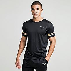 Men's SikSilk Mesh Gym T-Shirt